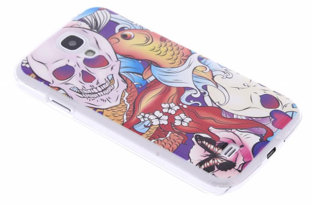 Celly DesignAwards hardcase hoesje voor de Samsung Galaxy S4 - Teschio Skull