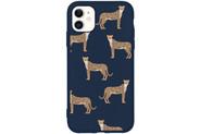 Design Backcover Color voor de iPhone 11 - Cheetah