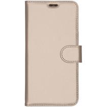 Accezz Wallet Softcase Booktype Motorola Moto E6 Plus / E6s - Goud