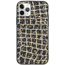 Glitter Snake Hardcase Backcover iPhone 11 Pro - Goud
