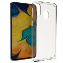 Accezz Clear Backcover Samsung Galaxy A40 - Transparant