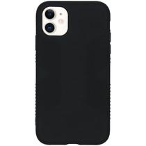 Accezz Impact Grip Backcover iPhone 11 - Zwart