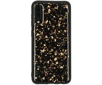 Diamond Hardcase Backcover Samsung Galaxy A50 / A30s - Goud