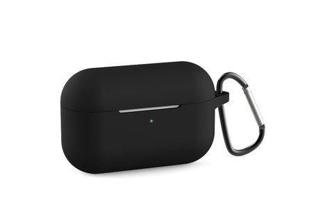 Apple AirPods Pro hoesje - Silicone Case met karabijnhaak