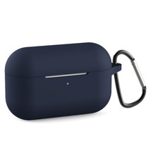 Silicone Case met karabijnhaak AirPods Pro - Blauw