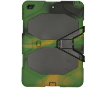 Extreme Protection Army Backcover iPad 10.2 (2019) - Groen