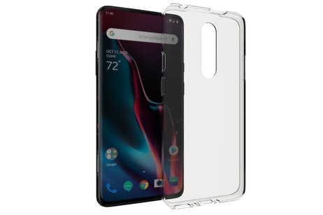 Accezz Clear Backcover voor de OnePlus 7 Pro - Transparant