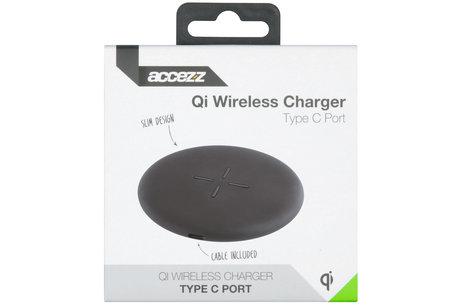Accezz Qi Fast Wireless Charger - 10 Watt - Zwart