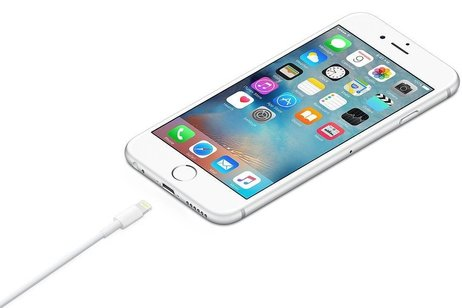 iMoshion MFI Certified Lightning naar USB-kabel 2 meter - Wit