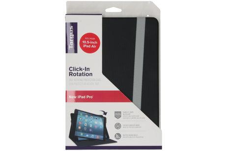 Targus Click-in Rotation Bookcase voor de iPad Pro 10.5 / iPad Air 10.5 - Zwart
