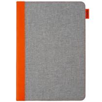 Gecko Covers Easy-Click Bookcase iPad 10.2 (2019) - Grijs / Oranje