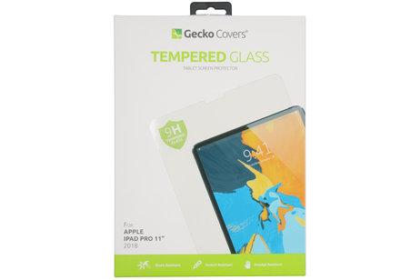 Gecko Covers Tempered Glass Screenprotector voor de iPad Pro 11 (2018)