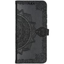 Mandala Booktype Xiaomi Mi Note 10 Pro - Zwart
