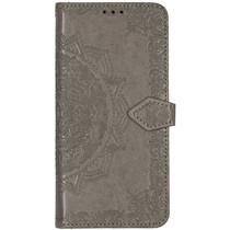 Mandala Booktype Xiaomi Mi Note 10 Pro - Grijs