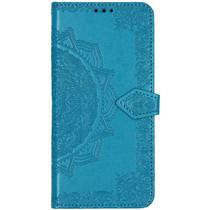 Mandala Booktype Xiaomi Mi Note 10 Pro - Turquoise