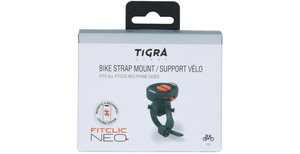 Tigra FitClic Neo Bike Strap Mount - Zwart