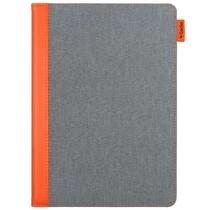 Gecko Covers Easy-Click Bookcase iPad (2017) / (2018) - Grijs / Oranje