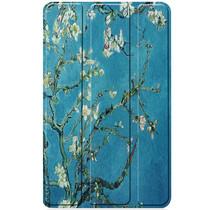Design Hardcase Bookcase Lenovo Tab M7 - Groene Plant