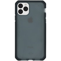 Itskins Supreme Frost Backcover iPhone 11 Pro Max - Donkergrijs