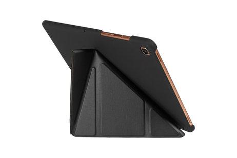Gecko Covers Origami Bookcase voor de Samsung Galaxy Tab S5e - Zwart