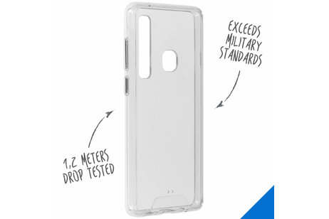 Accezz Xtreme Impact Backcover voor Samsung Galaxy A9 (2018) - Transparant