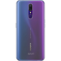 Azuri Slim Backcover Oppo A5 (2020) / A9 (2020) - Transparant