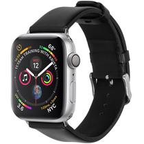 iMoshion Effen leder bandje Apple Watch 44 / 42 mm
