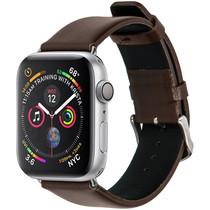 iMoshion Effen Lederen bandje Apple Watch 44 mm / 42 mm