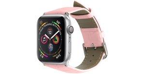 iMoshion Krokodil leder bandje Apple Watch 40 / 38 mm - Roze