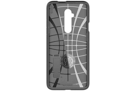OnePlus 7T Pro hoesje - Spigen Tough Armor Backcover