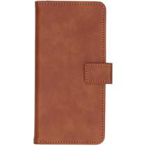 iMoshion Luxe Booktype Samsung Galaxy A21 - Bruin