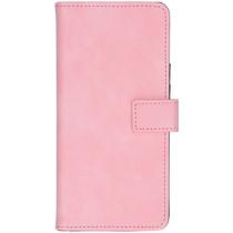iMoshion Luxe Booktype Samsung Galaxy A21 - Roze
