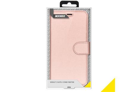 Accezz Wallet Softcase Booktype voor iPhone 8 Plus / 7 Plus - Rosé goud