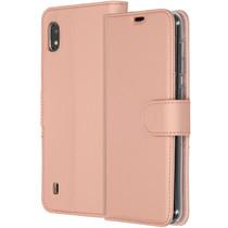 Accezz Wallet Softcase Booktype Samsung Galaxy A10 - Rosé goud