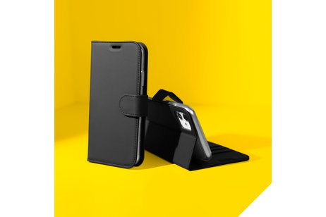Accezz Wallet Softcase Booktype voor Samsung Galaxy S9 Plus - Zwart