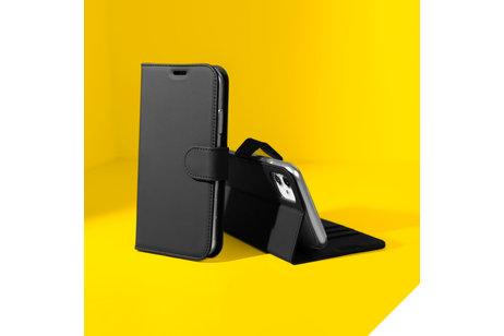 Accezz Wallet Softcase Booktype voor Sony Xperia XA2 - Zwart