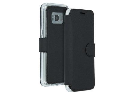 Accezz Xtreme Wallet Booktype voor Samsung Galaxy S8 - Zwart