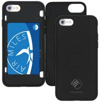 iMoshion Backcover met pashouder iPhone SE (2020) / 8 / 7 - Zwart
