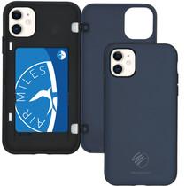 iMoshion Backcover met pashouder iPhone 11 - Donkerblauw