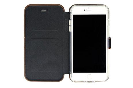 Valenta Impact Wallet Booktype voor de iPhone 8 Plus / 7 Plus / 6(s) Plus - Vintage Brown
