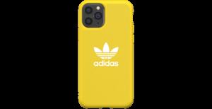 adidas Originals Adicolor Backcover iPhone 11 Pro - Geel
