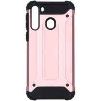 iMoshion Rugged Xtreme Backcover Samsung Galaxy A21 - Rosé Goud