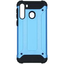 iMoshion Rugged Xtreme Backcover Samsung Galaxy A21 - Lichtblauw