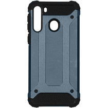 iMoshion Rugged Xtreme Backcover Samsung Galaxy A21 - Blauw