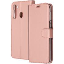 Accezz Wallet Softcase Booktype Samsung Galaxy A21 - Rosé Goud