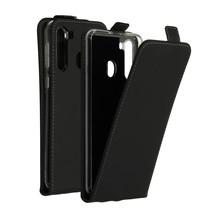 Accezz Flipcase Samsung Galaxy A21 - Zwart