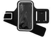 Sportarmband voor de Samsung Galaxy A01 - Zwart