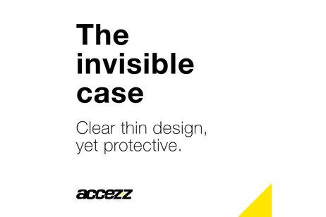 Huawei P Smart hoesje - Accezz Clear Backcover voor