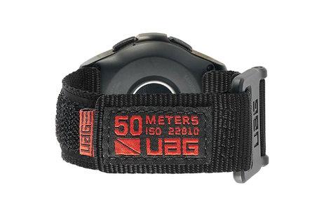 UAG Active Strap band voor de Samsung Galaxy Watch 42 mm - Zwart