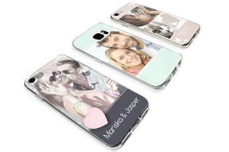 Samsung Galaxy A21 hoesje - Ontwerp uw eigen Samsung